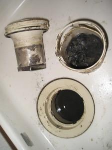 洗濯機の排水口の掃除の仕方
