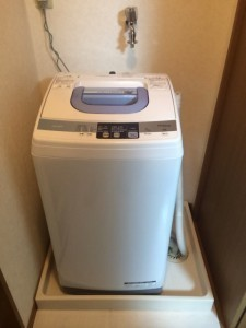 女の子でも出来る!簡単に洗濯機を設置する為の3つの手順