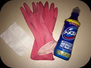 ウォシュレットの掃除方法