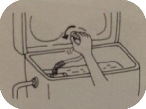 トイレのタンクのフタの開け方