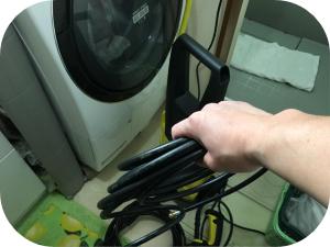 自分で出来る!排水管高圧洗浄