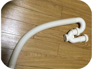 洗濯機の排水ホースから水漏れしている場合の解決法