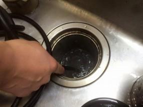 台所の排水管高圧洗浄の方法