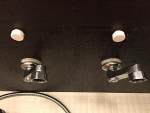 サーモスタット混合栓の交換方法