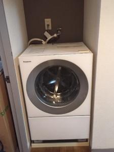 目黒区にて洗濯機の取り付け依頼を頂きました。